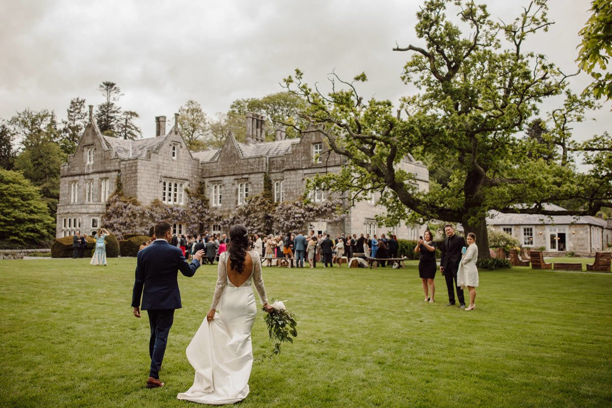 Relaxed Lisnavagh House Wedding 5