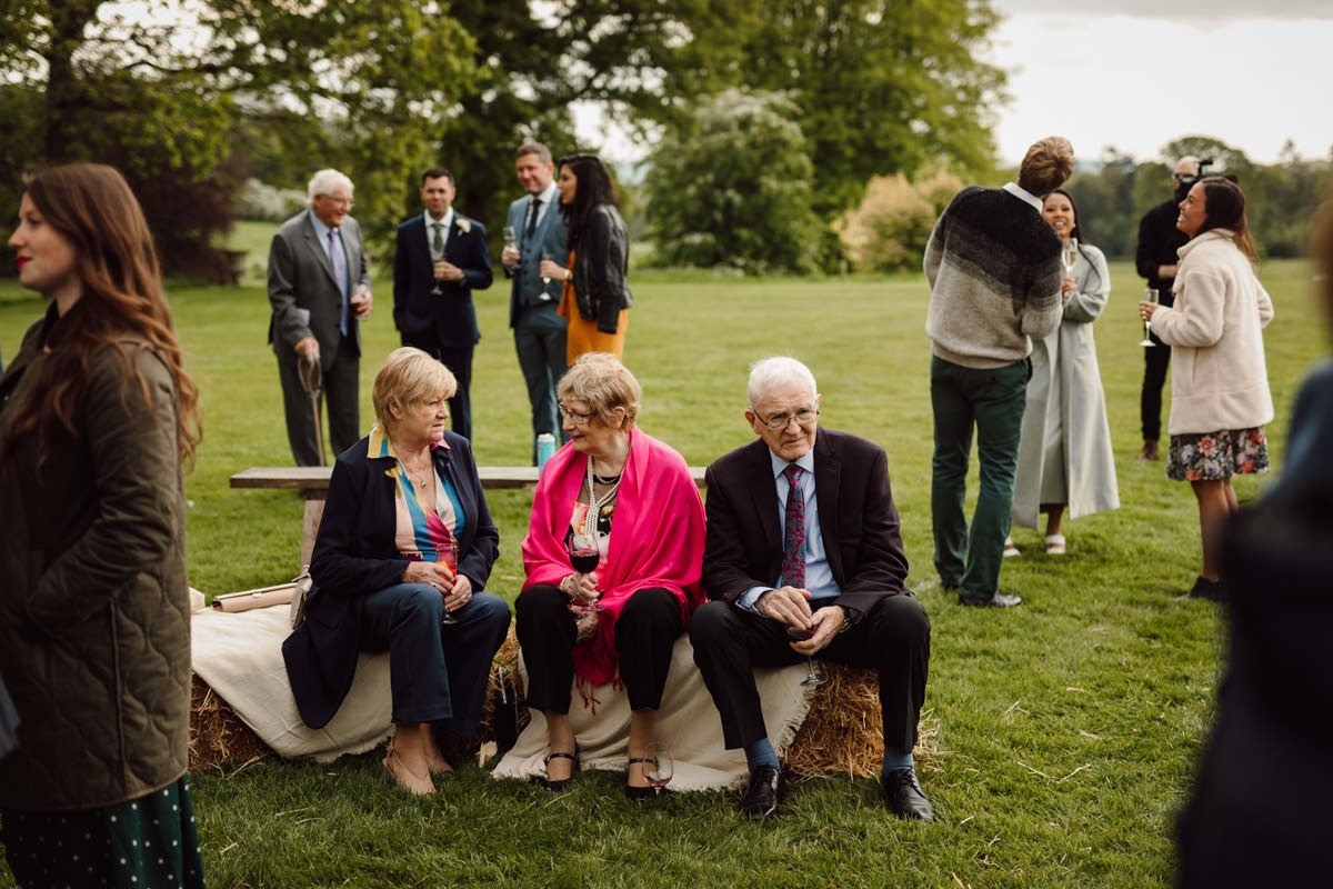 Relaxed Lisnavagh House Wedding 69