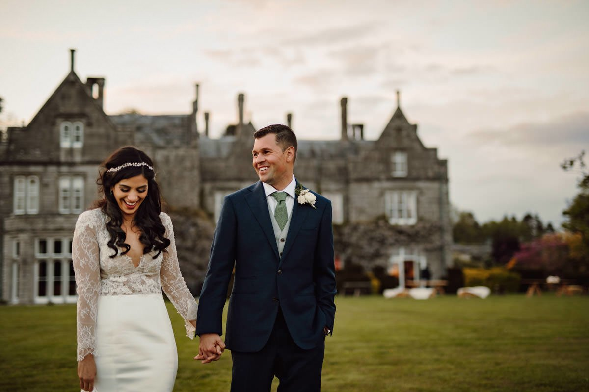 Relaxed Lisnavagh House Wedding 6