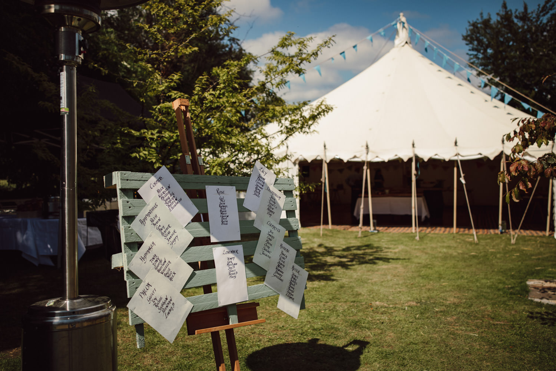 Magical Garden Marquee Wedding 1