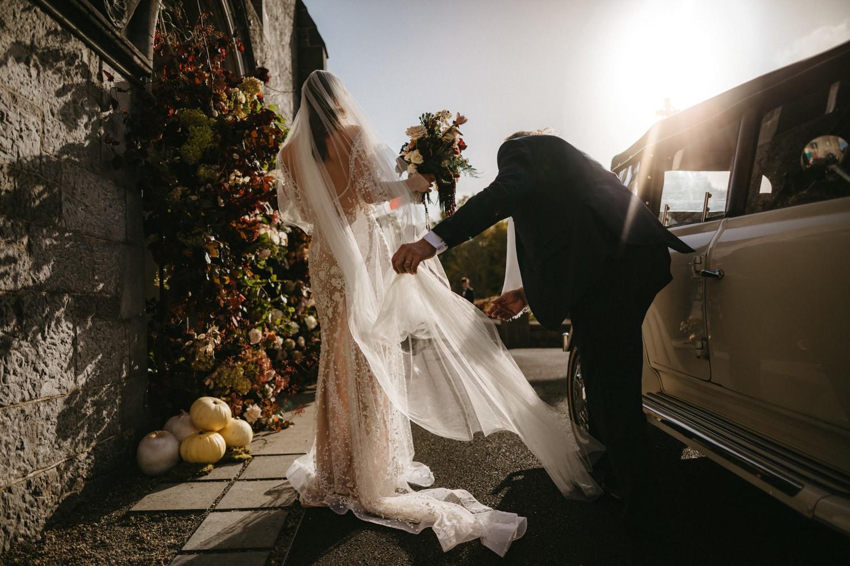 Beautiful & Stylish Gloster House Wedding 31