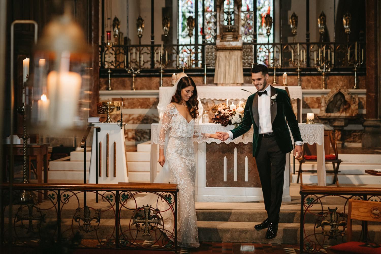 Beautiful & Stylish Gloster House Wedding 42