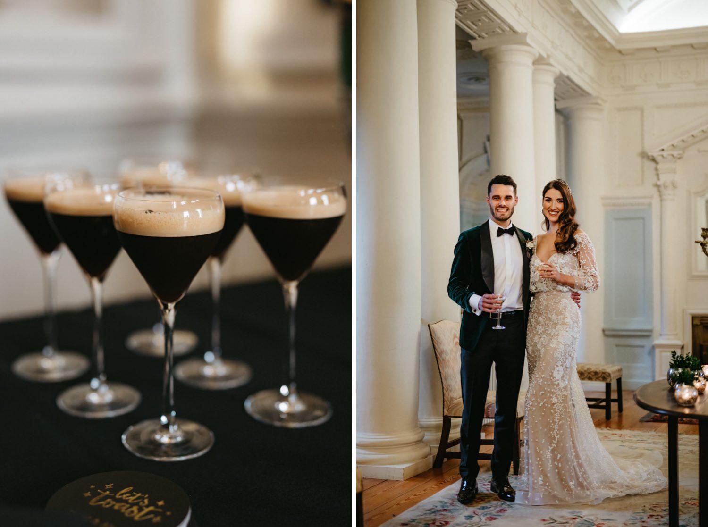 Beautiful & Stylish Gloster House Wedding 62