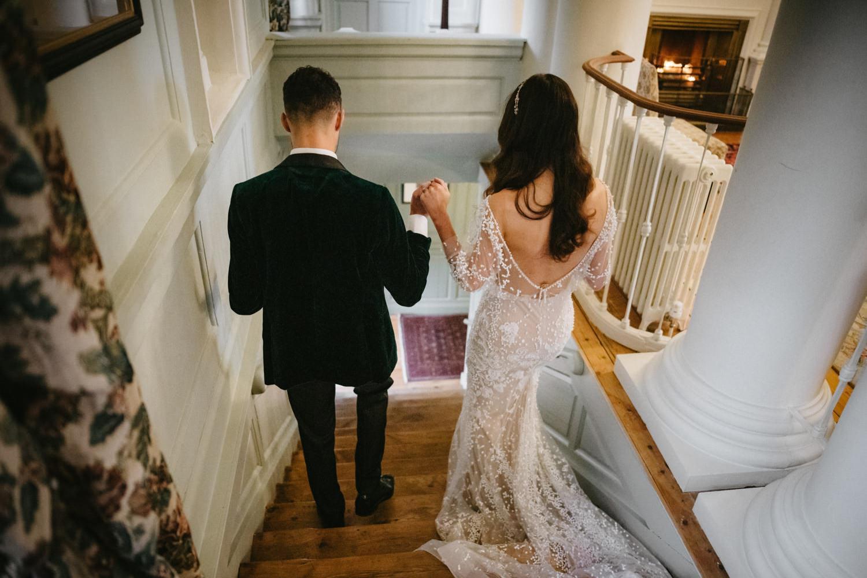 Beautiful & Stylish Gloster House Wedding 63
