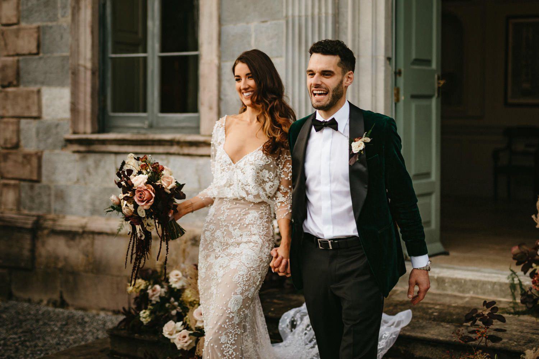 Beautiful & Stylish Gloster House Wedding 66