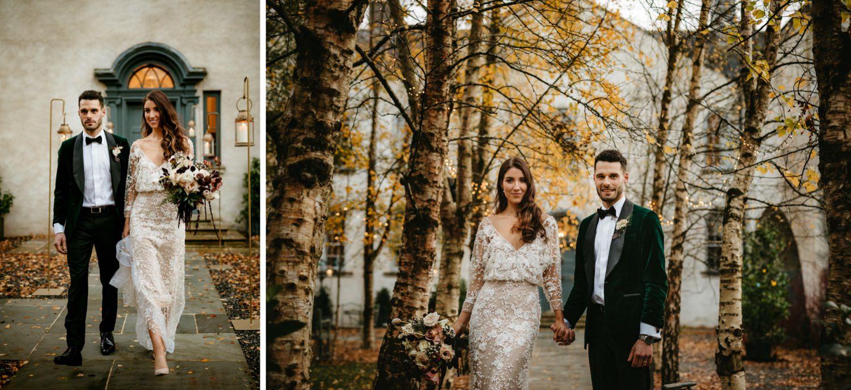 Beautiful & Stylish Gloster House Wedding 73