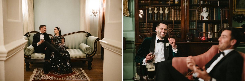 Beautiful & Stylish Gloster House Wedding 79