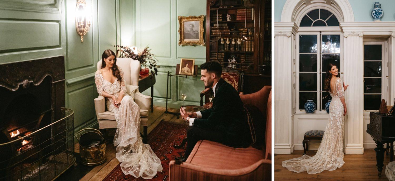 Beautiful & Stylish Gloster House Wedding 80