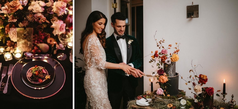 Beautiful & Stylish Gloster House Wedding 104